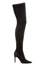 Thigh boots - Black - Ladies | H&M CN 1